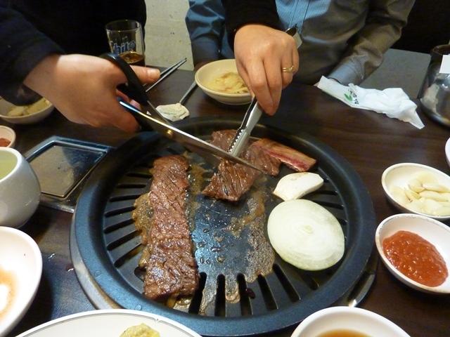 Grilis Seulo restorane
