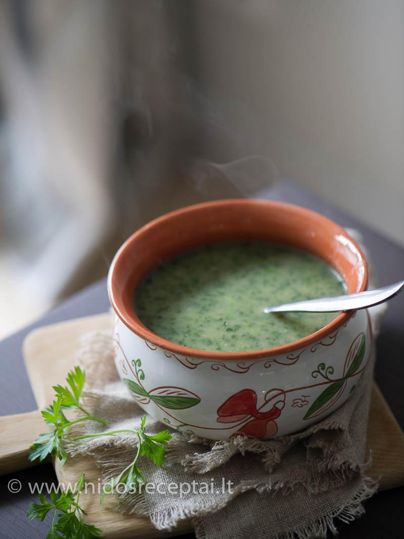 Trinta sriuba su lapiniais kopūstais