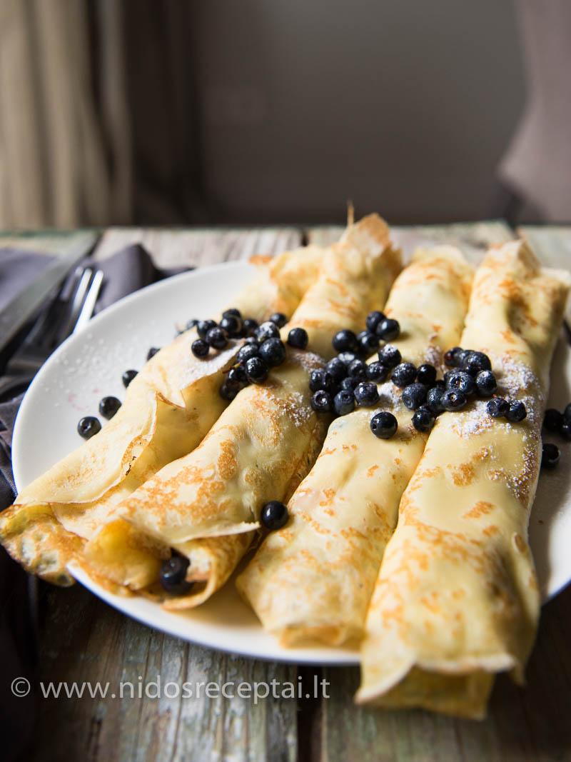 Saldūs blyneliai su varške: tobuli vasaros savaitgalio pusryčiai