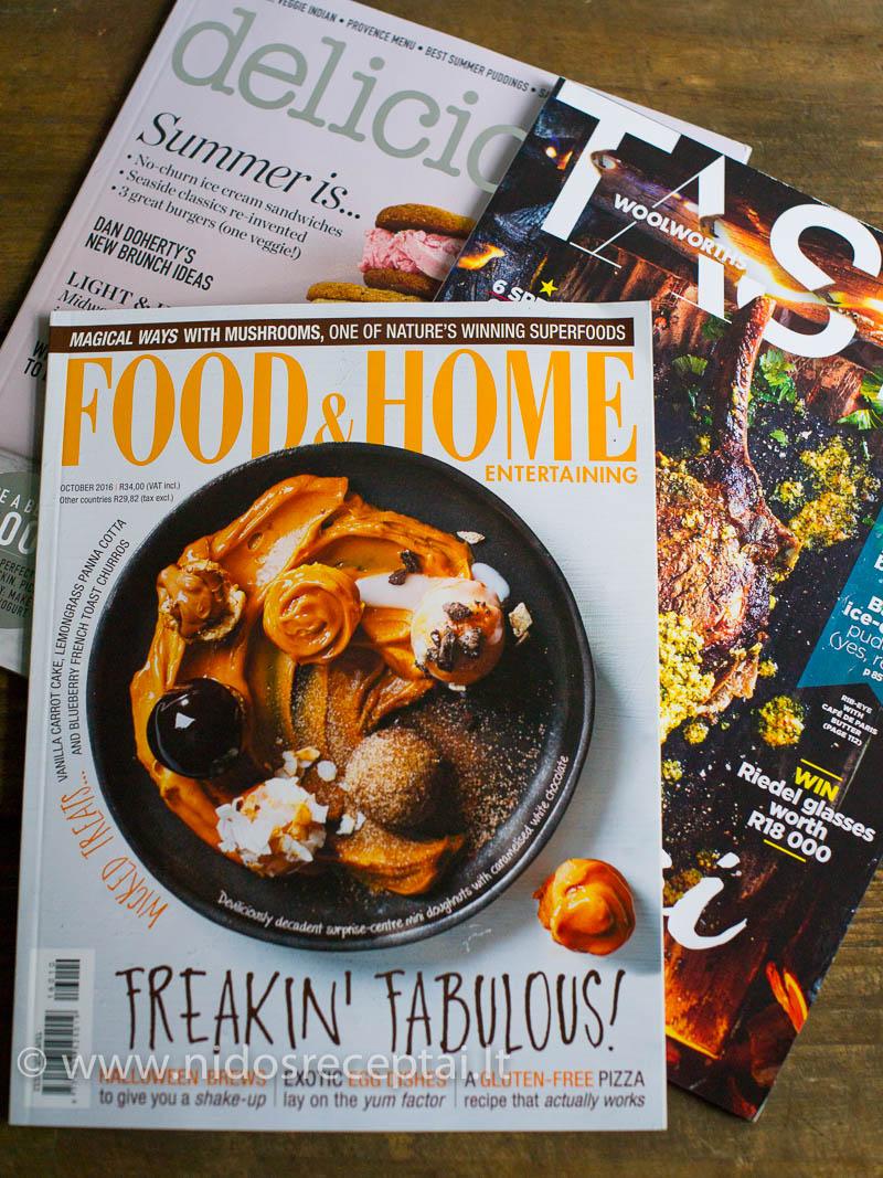 Niekada nepraeinu pro kulinarinių žurnalų lentyną:)