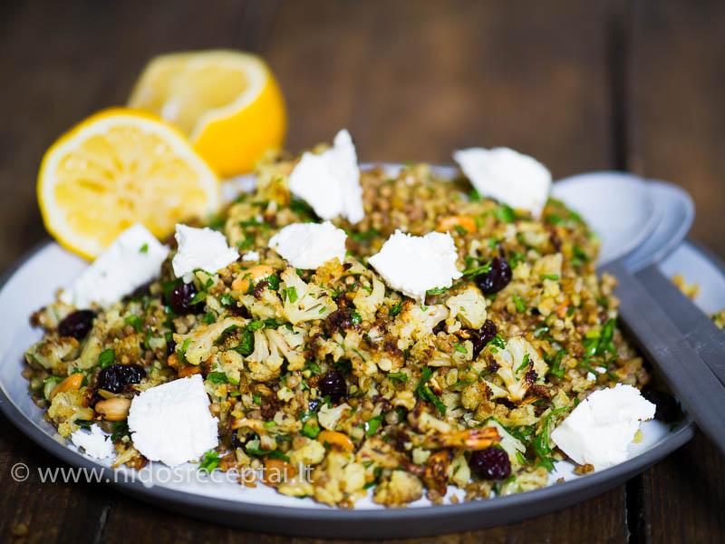 Artimųjų Rytų aromatais pagardintos salotos