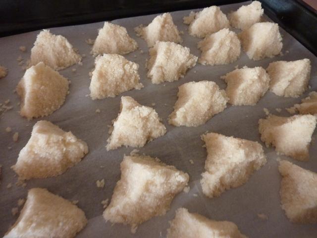 sausainiai su kokosais