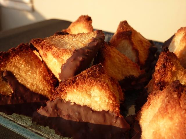 kokosiniai sausainiai macarons