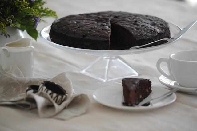 Sokolado pyragas su vysniom