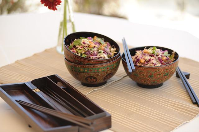 kopustu salotos su azijos aromat