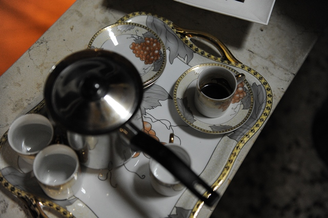 arabiska kava su kardamonu