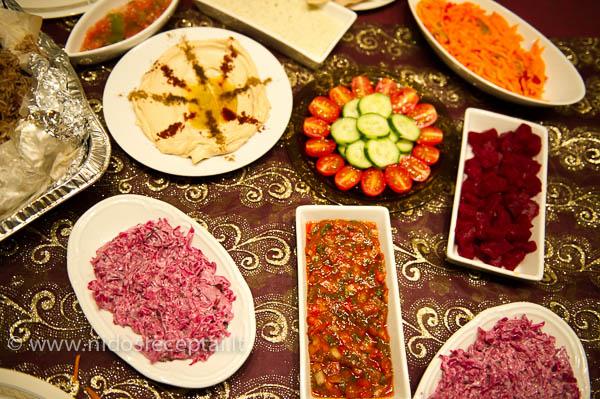 arabiski uzkandziai