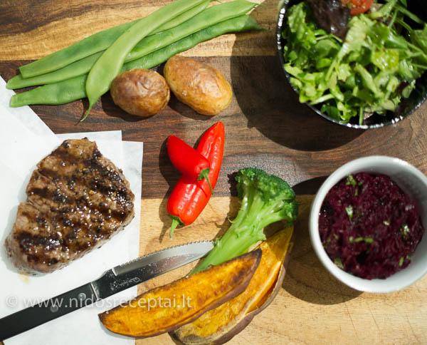 priedai prie steiku kepsniu