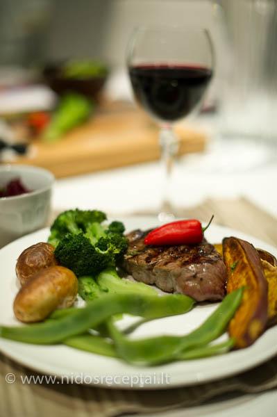 tobulas steikas