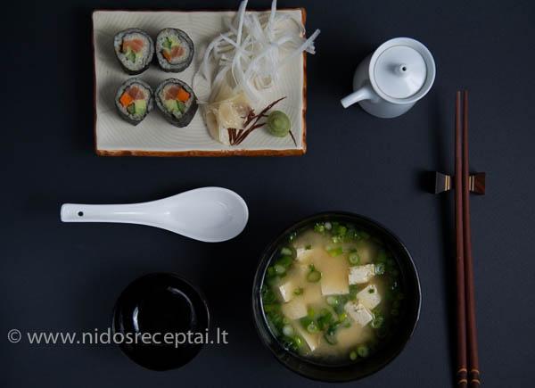 sushi ir miso
