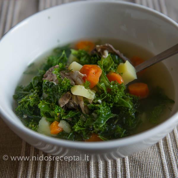 Kale sriuba