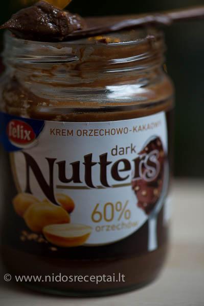Nutella pyragas