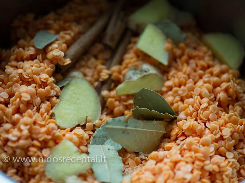 Lęšiai - vienas esminių indoškos virtuvės ingredientų