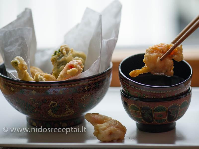 Japoniška tempura