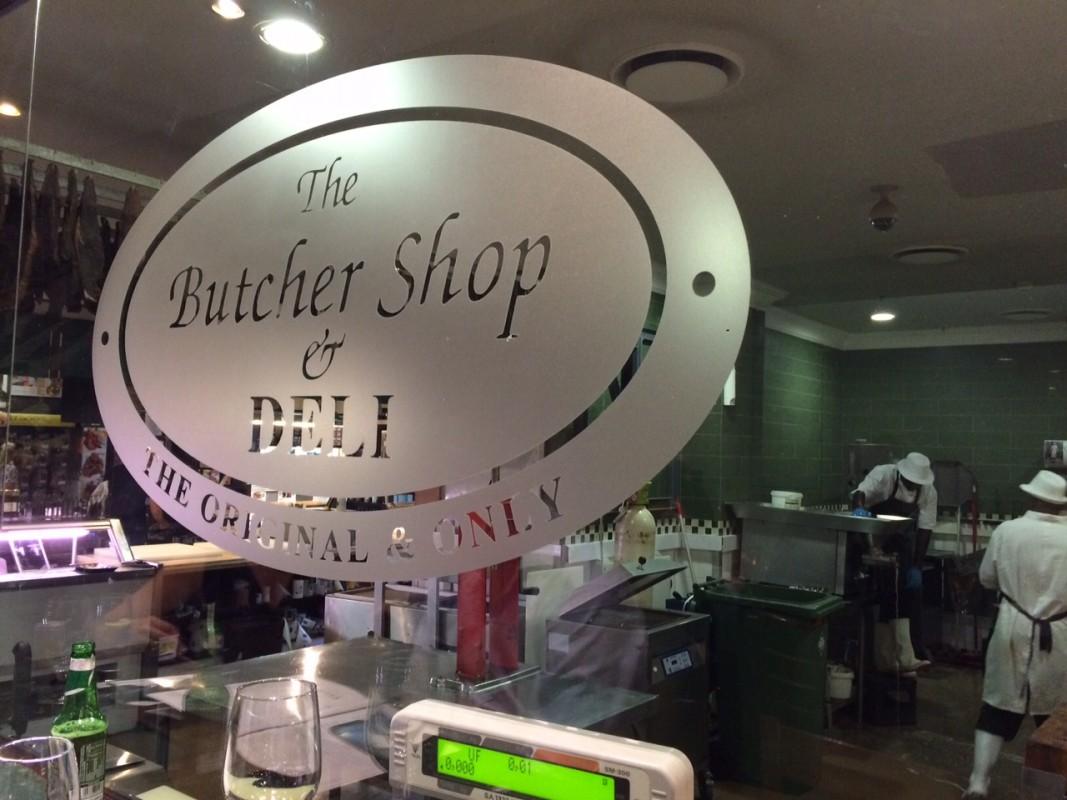 Butcher shop - tradicijos yra tradicijos!
