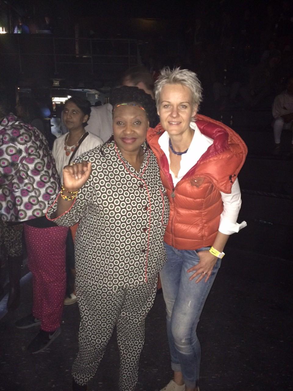 Pietų Afrikos scenos žvaigždė - Ivone Chaca Chaca, arba kitaip vadinama Mama Africa