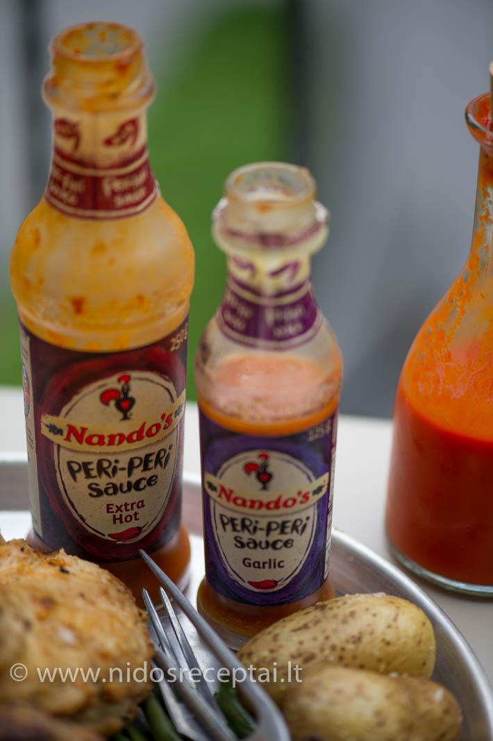 Nandos Peri Peri padažai - neatskiriama portugališkojo viščiuko dalis!
