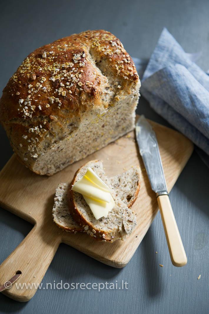 Skani šviežia arba paskrudinta, su sviestu...
