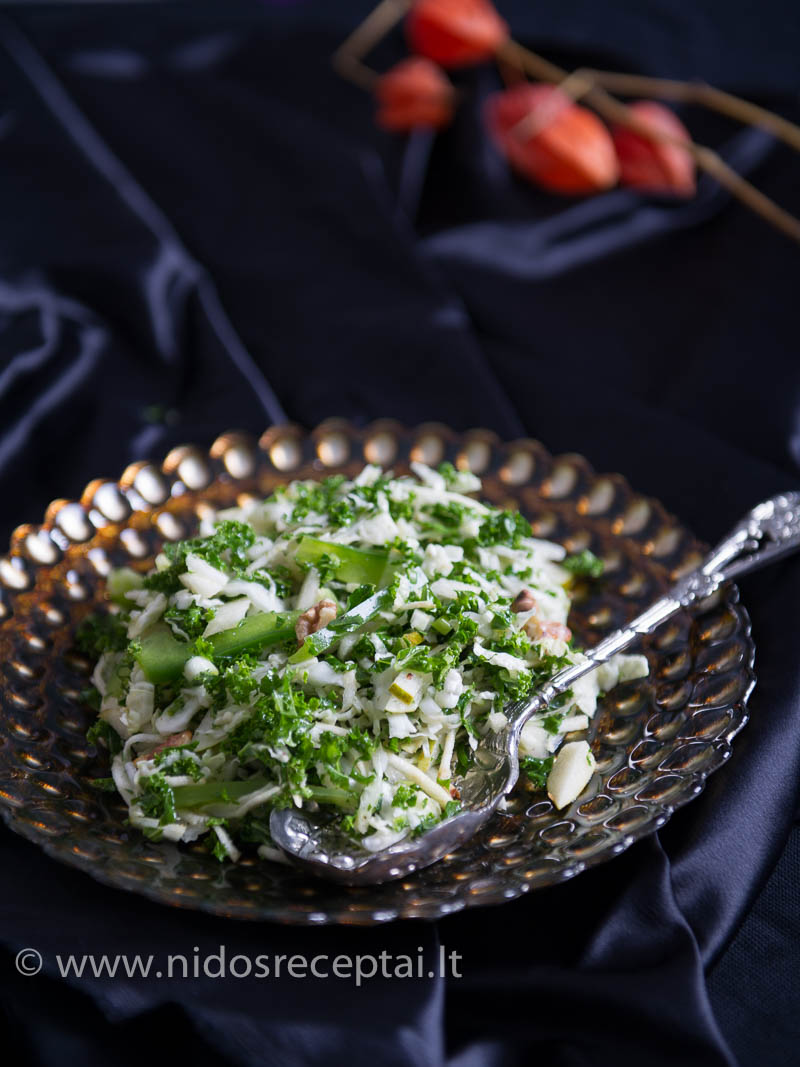 Žalios salotos - tiks ir kasdienai, ir šventėms