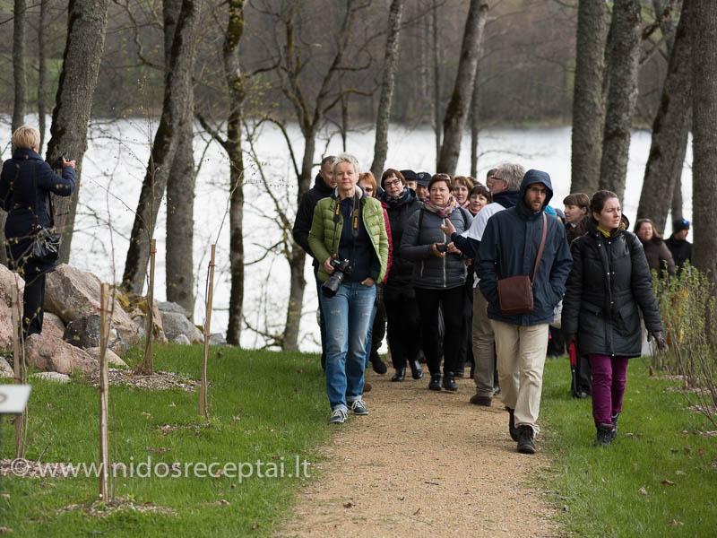 Svečiams - ekskursija po dvaro teritoriją ir ūkį