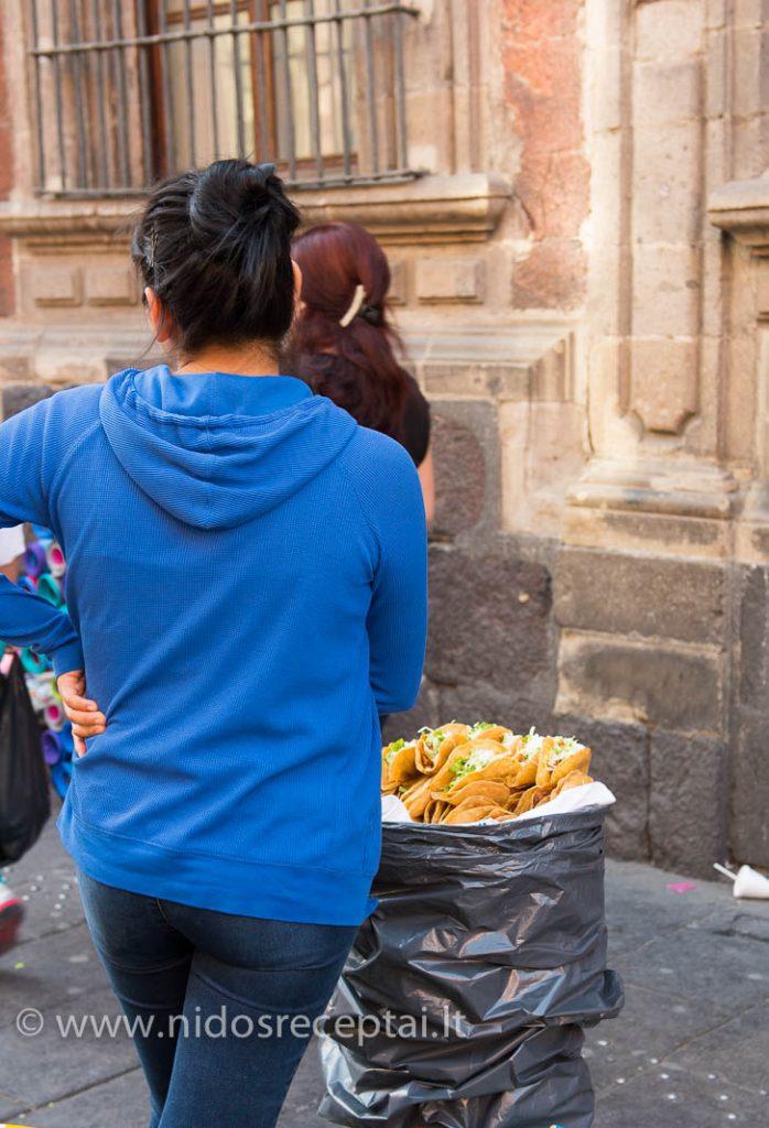 Meksikos gatves maistas