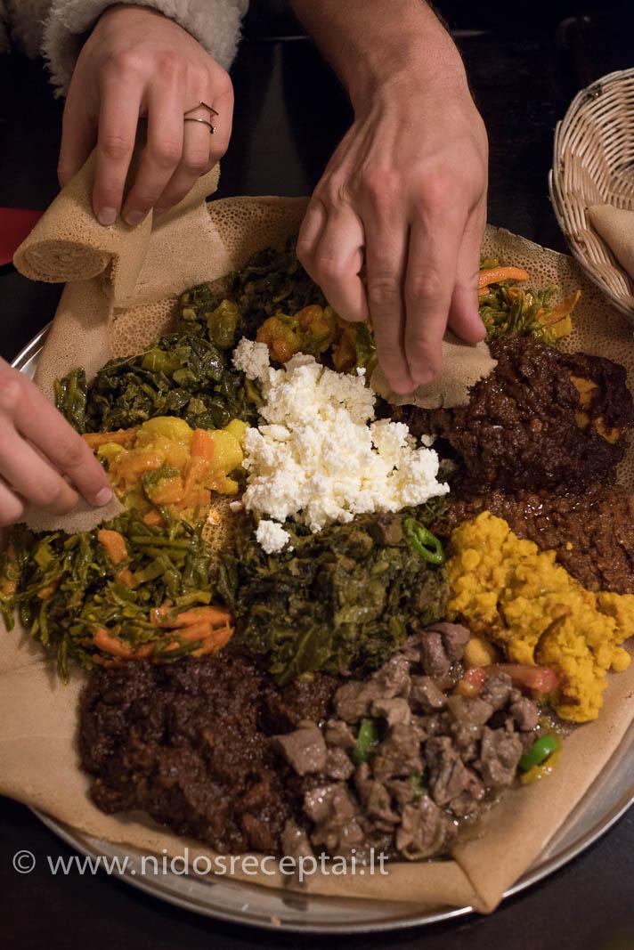 Etiopų restoranas