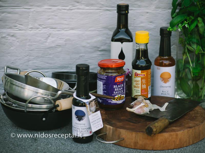 Azijos virtuvės ingredientai